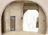 Il·lustració de la petita cel·la de la presó